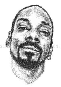Scribbled Snoop Dogg