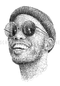 Scribbled Anderson Paak