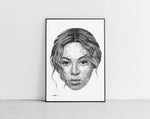 Lade das Bild in den Galerie-Viewer, Scribbled Beyoncé