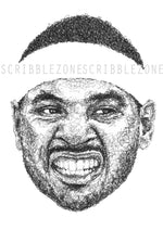 Lade das Bild in den Galerie-Viewer, Scribbled Carmelo Anthony