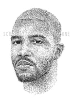 Lade das Bild in den Galerie-Viewer, Scribbled Frank Ocean