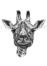 Lade das Bild in den Galerie-Viewer, Scribbled Giraffe