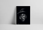 Load image into Gallery viewer, Reverse Scribble of John Lee Hooker