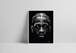 Lade das Bild in den Galerie-Viewer, Reverse Scribble of Allen Iverson