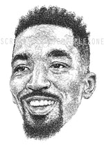 Load image into Gallery viewer, Scribbled J.R. Smith