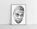 Lade das Bild in den Galerie-Viewer, Scribbled Jay Z