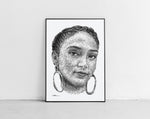 Lade das Bild in den Galerie-Viewer, Scribbled Joy Crookes