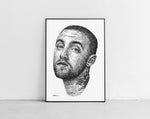 Lade das Bild in den Galerie-Viewer, Scribbled Mac Miller