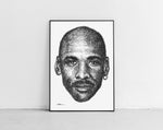 Lade das Bild in den Galerie-Viewer, Scribbled Michael Jordan