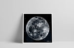 Lade das Bild in den Galerie-Viewer, Reverse Scribble of the Moon