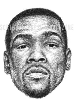 Load image into Gallery viewer, Scribbled Kevin Durant