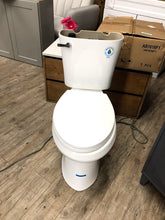 Load image into Gallery viewer, *AS IS Glacier Bay Power Flush 2pc 1.28GPF Single Flush Elongated Toilet – White