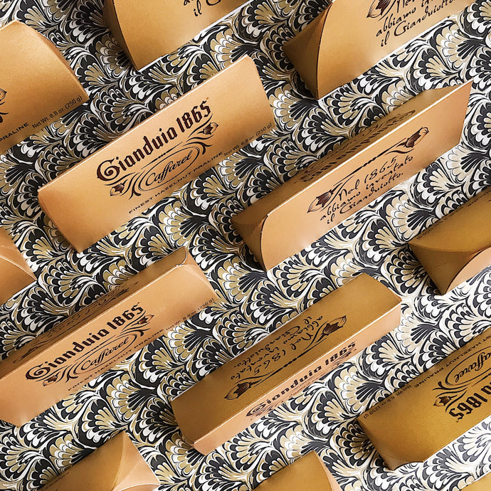 Caffarel's legendary gianduja chocolate