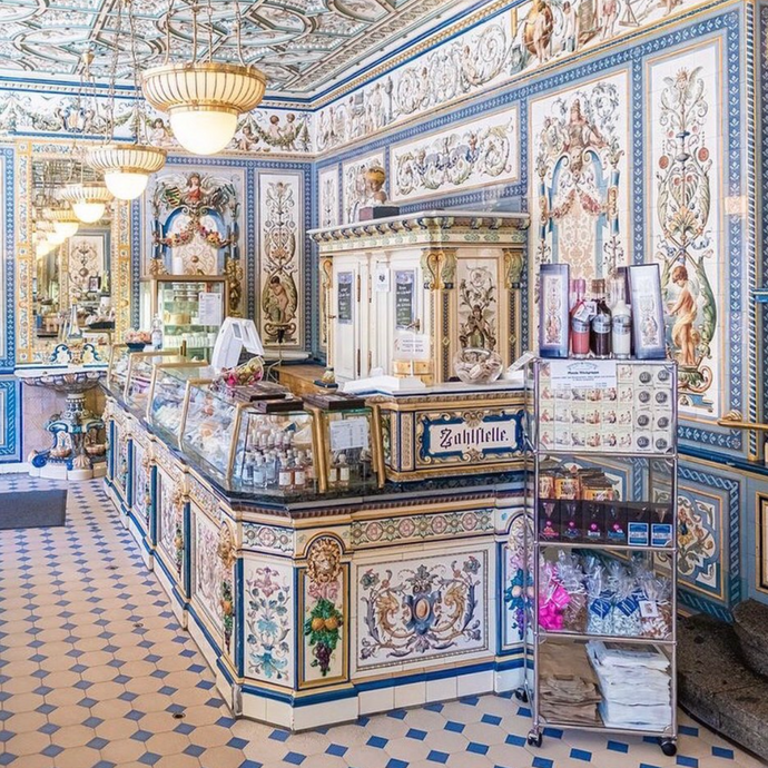 The world's most beautiful dairy shop