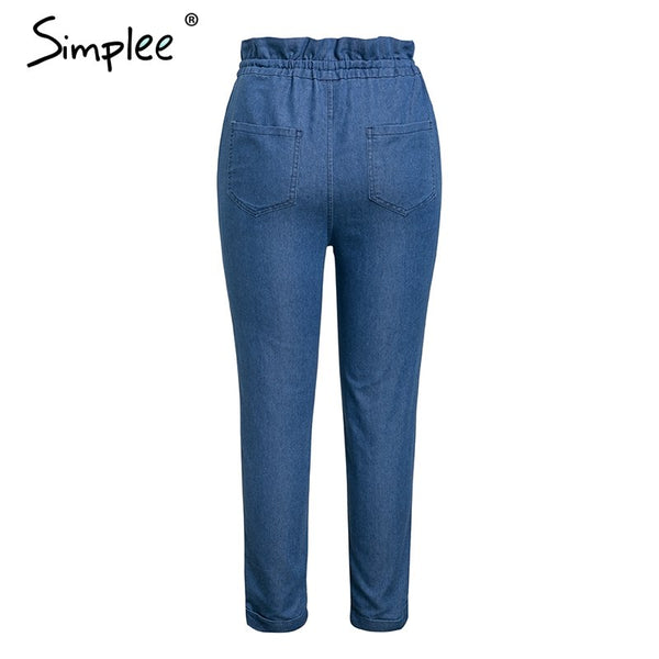 Blue Denim Trousers