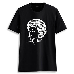 Afro Lady Girl Power Tee
