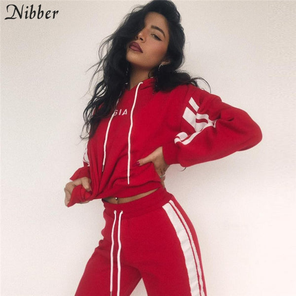 2 Piece Red Active