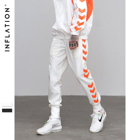 Side Traffic Lane Line Printed Jogger