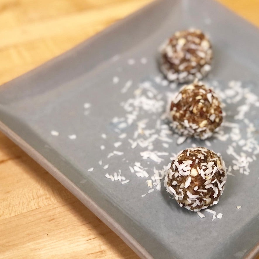 Coconut Bliss Balls For Mom