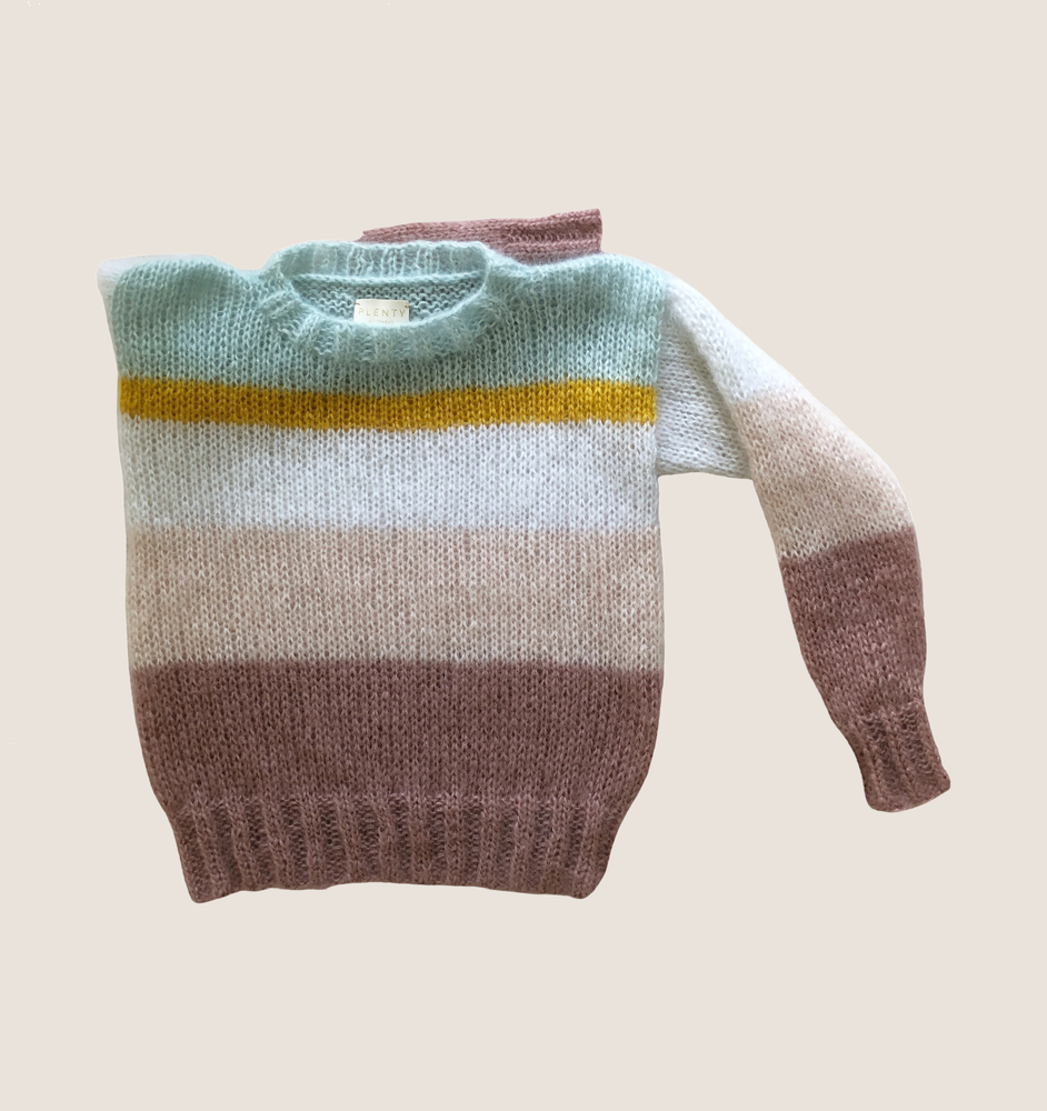 In stock Ray of Sunshine Mohair Sweater