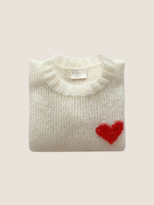 Cream Signature Sweater
