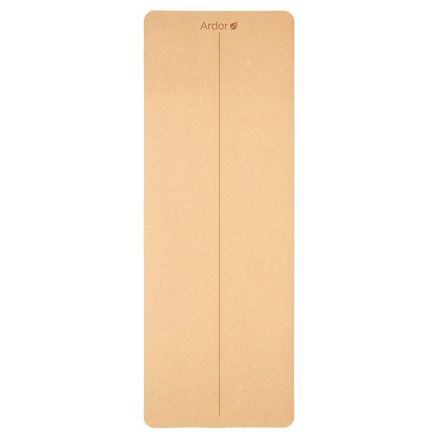 Natural Cork Yoga Mat - Ardor Athletic