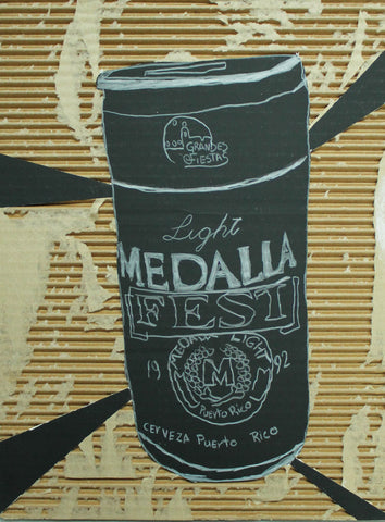 Medalla Fest Beer Can