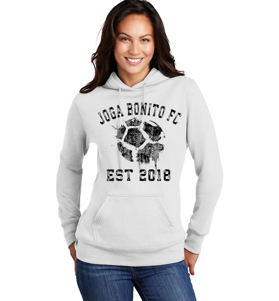 Women's Joga Bonito F.C.<br> Soccer Ball Supporters Hoodie