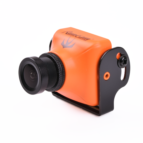 Runcam Swift 600TVL DC 5 to 17V Horizontal Fov 90 Mini FPV Camera IR blocked with 2.8MM Lens-Orange