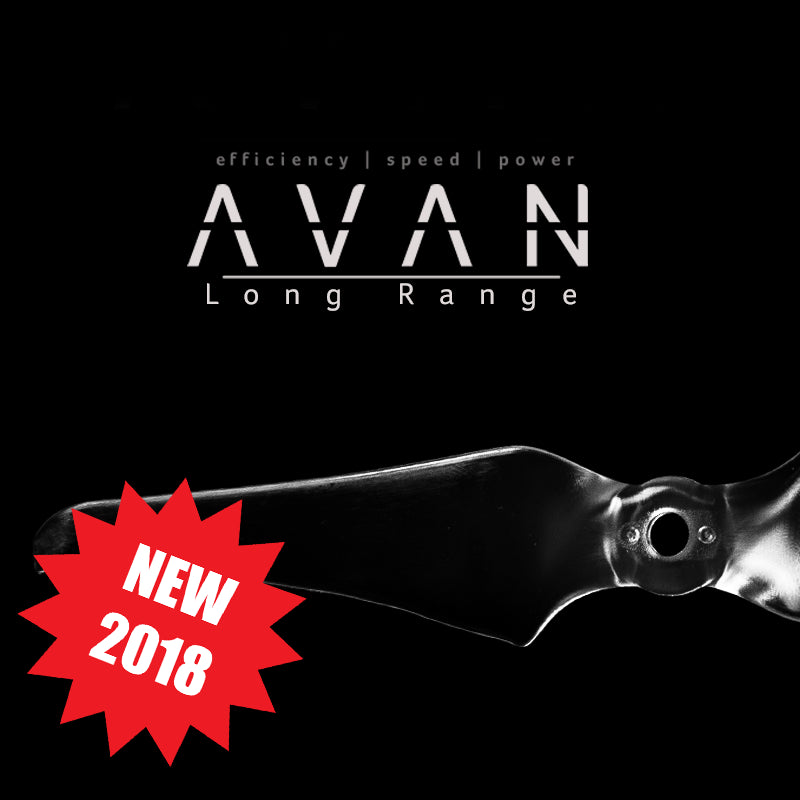1set AVAN Long range  6inch propeller 2 blade 6X3.8X2 for FPV Racing drone