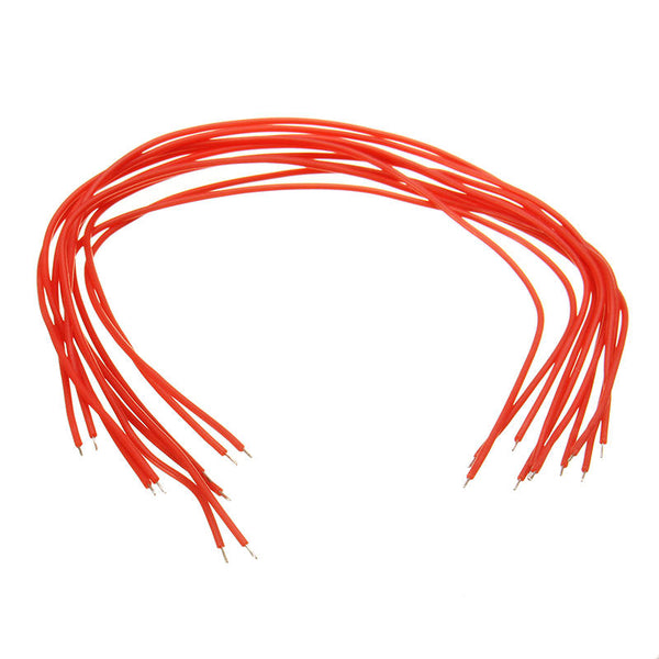 10 Pcs DIY 38mm 50mm 70mm 100MM 120mm 400mm 600mm  Silicone Cable AWG16 18 20 30 Wire for RC Model Tool DIY Parts