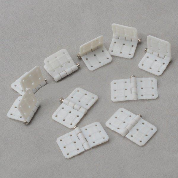 10Pcs Plastic Hinge W20×L36mm-W16×L29mm-W20×L36mm For RC Airplane Aileron