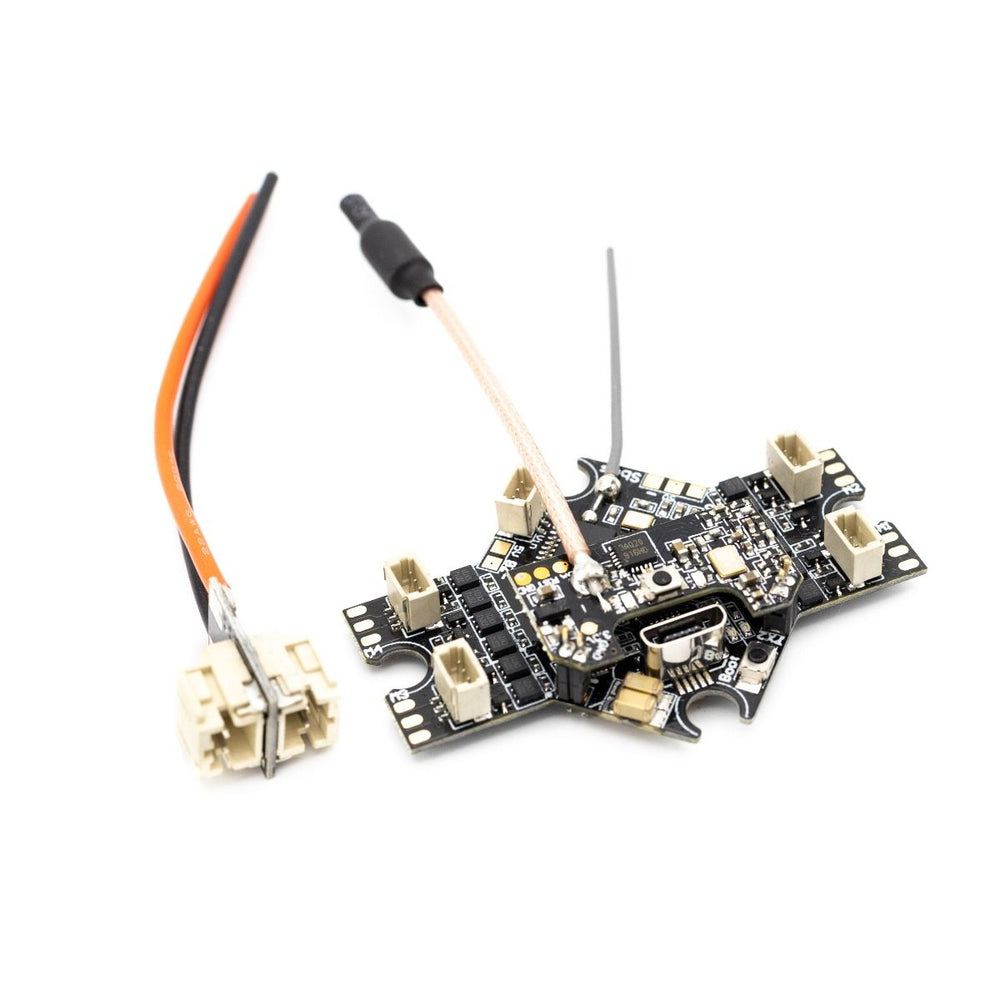 EMAX Tinyhawk Freestyle - All-In-One FC-ESC-VTX w- PH2.0 Dual Connector, Long FPV Antenna