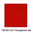 TM-001-2A Transparent red(600mm*1meter)