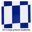 021-4 Grill-work large grillwork blue&white(600mm*1meter)