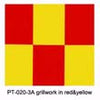 PT-020-3A Grill-work grillwork in red&yellow(600mm*1meter)