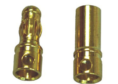 A-007 3.5mm Gold Bullet Banana Connector Plug For ESC Battery Motor