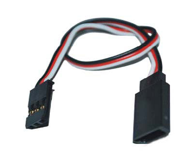 G-001 Futaba Straight Extension wire 22AWG L=30CM