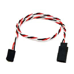 G-003 Futaba twisted wire 22AWG 60core Anti-interference Servo Extension Cable L=20CM