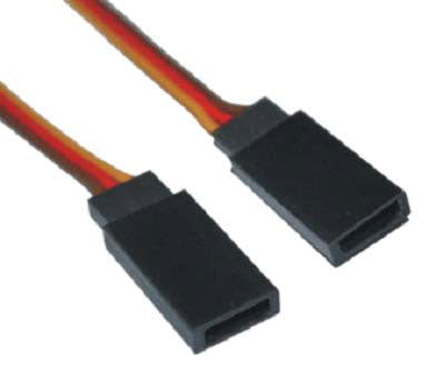 H-004-H-008 JR female servo lead 26AWG L=10CM
