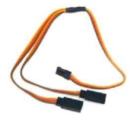 J-003 JR Straight Y lead 22AWG L=30CM