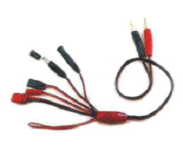 K-022 4.0mm to Deans-Futaba-JST-RX-TX-extra PVC wire L=45CM