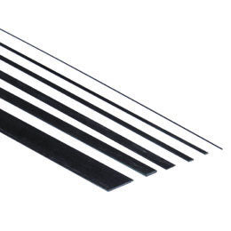 Carbon fiber Batten 4.0 x 15.0 x 1000mm