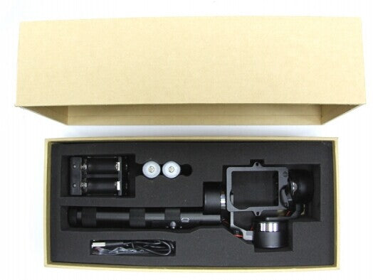 Z-ONE 3 Axis Handle Gopro Gimbal Camera Stabilizer for Gopro 3+ Photography