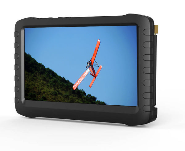 TE968H 5 Inch FPV 5.8G 8 Channels Vrx Wireless Mini DVR LCD Monitor-5.8G D US Plug