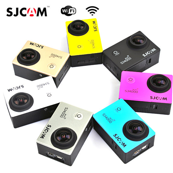 SJcam SJ4000 WiFi Car DVR Camera Sport DV Novatek Waterproof 10900630