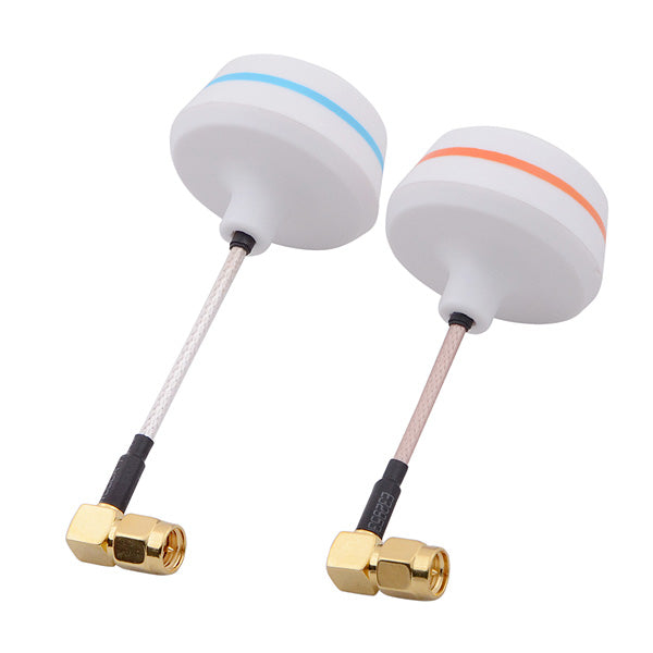 5.8G Right Angle SMA Male Antenna Gains FPV Aerial Photo RC Airplane (1 pair) 21045