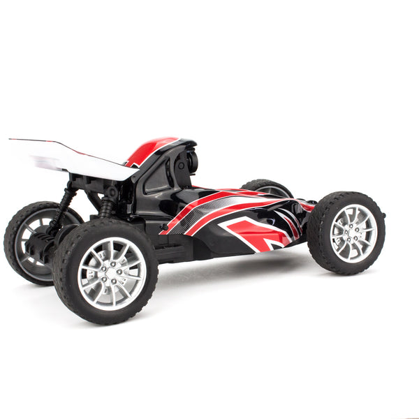 EMAX Interceptor 1-24 2.4G RWD FPV RC Car with Goggles Full Proportional Control RTR BNR Model - Car+Remote Controller