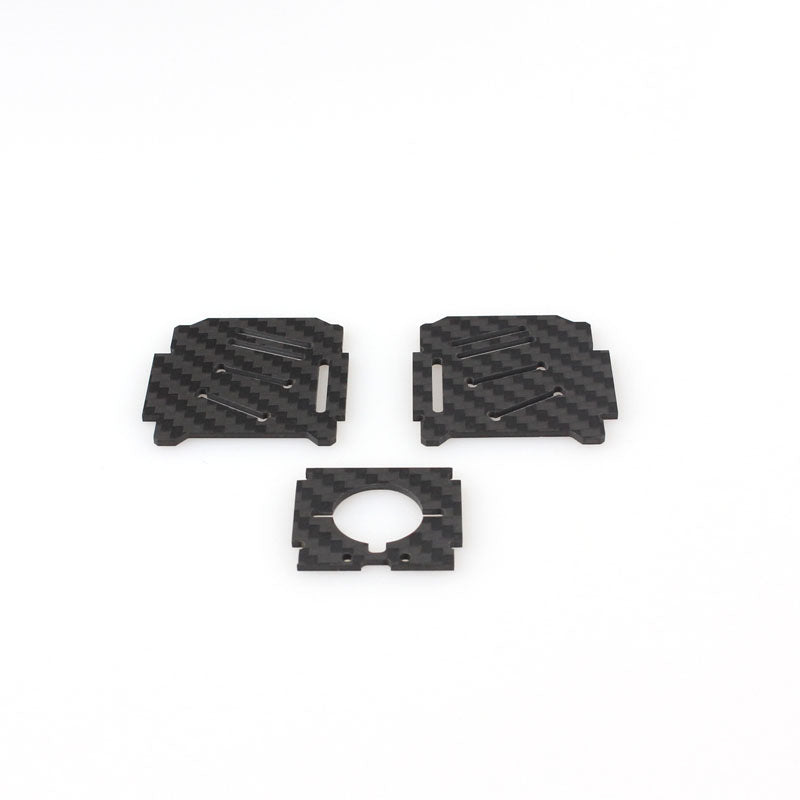 EMAX 1.5 mm Replacement Camera Mounting Board And Side Board  for Nighthawk 170 Quadcopter Racer Model - BLACK