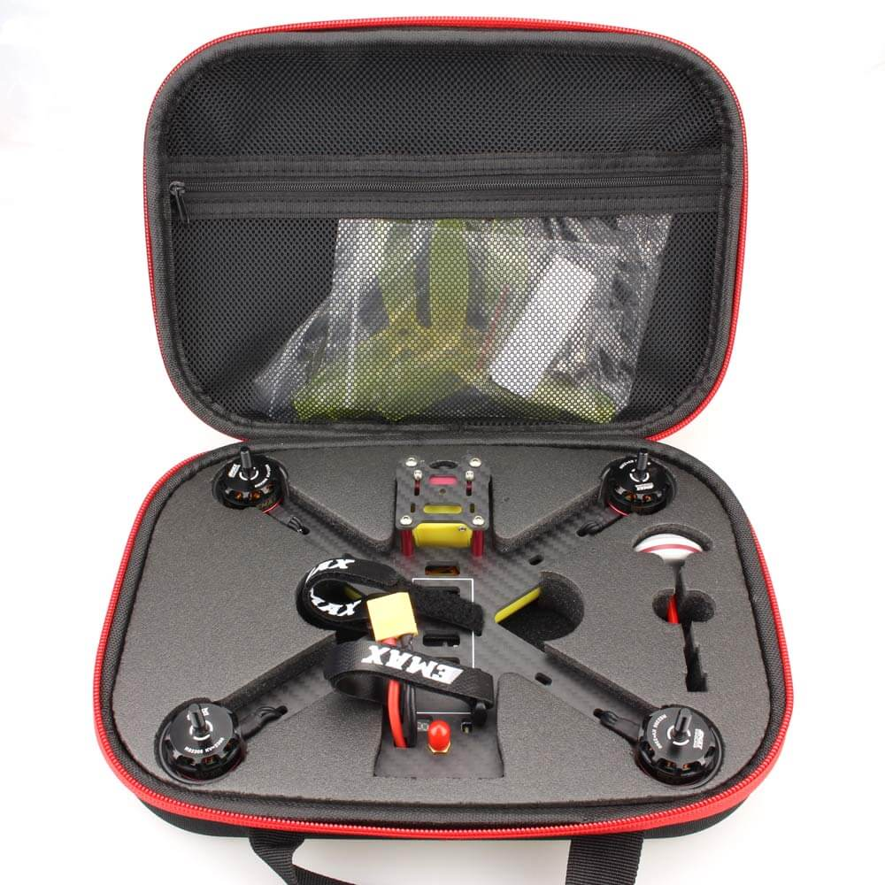 RC Handbag Storage Bag Carrying Box Case with Sponge for 200 FPV Drone